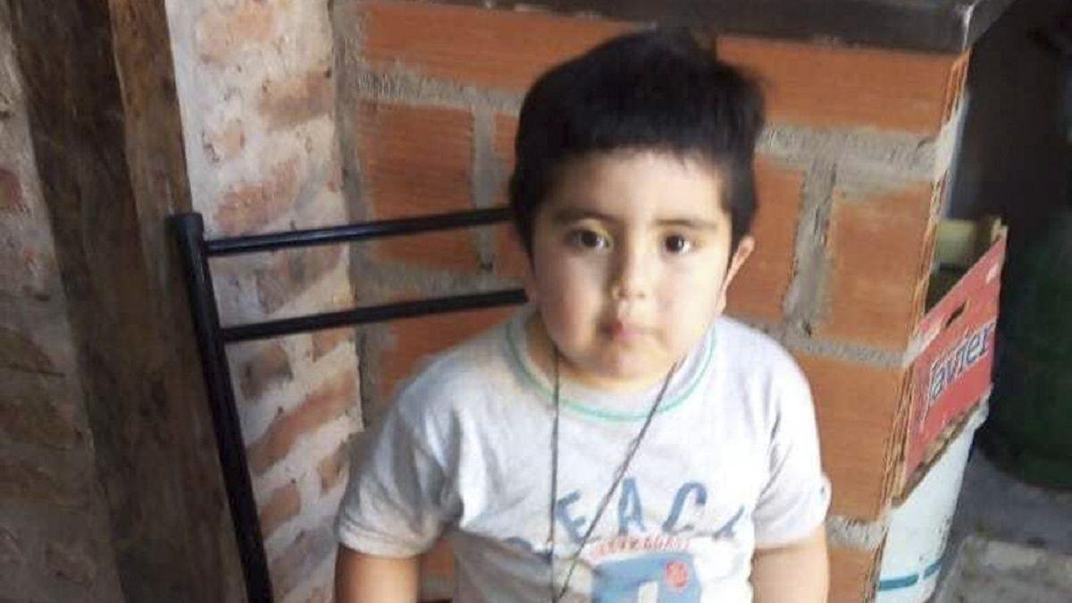 Benjamín tenía tres años, murió de un tiro en el pecho.