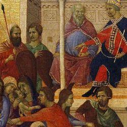 """En la Edad Media, la celebración se fusionó con un rito pagano conocido como la """"fiesta de los locos""""."""