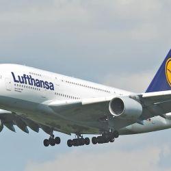 Aviones de Lufthansa.