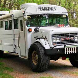 Este particular camper se encuentra en el condado de Plymouth, en Massachusetts, Estados Unidos.