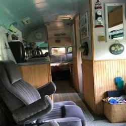 El interior se ha modificado de tal manera para hacer un buen uso del espacio.