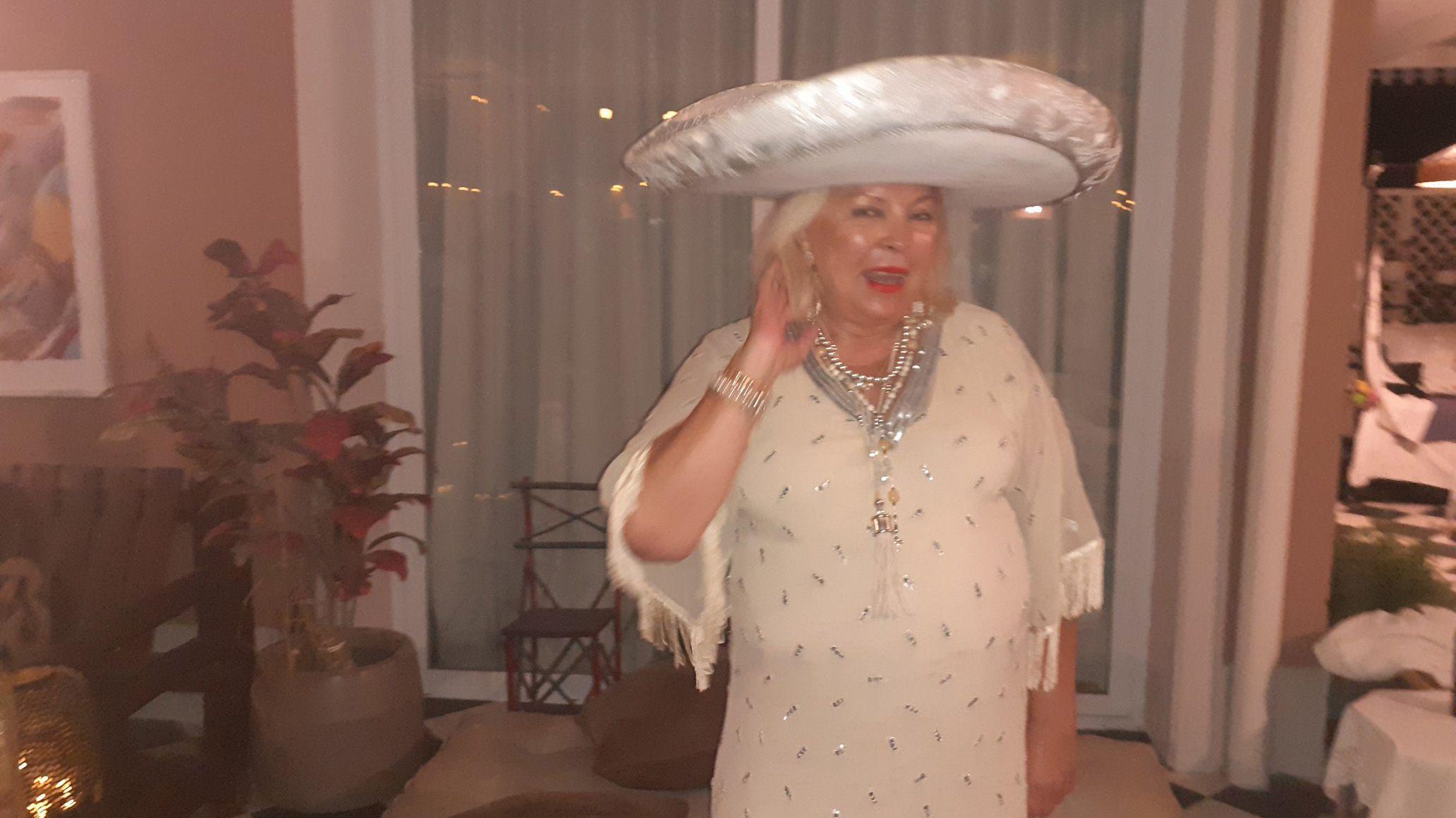 Carrió festejó sus 64 años como candidata 2021.