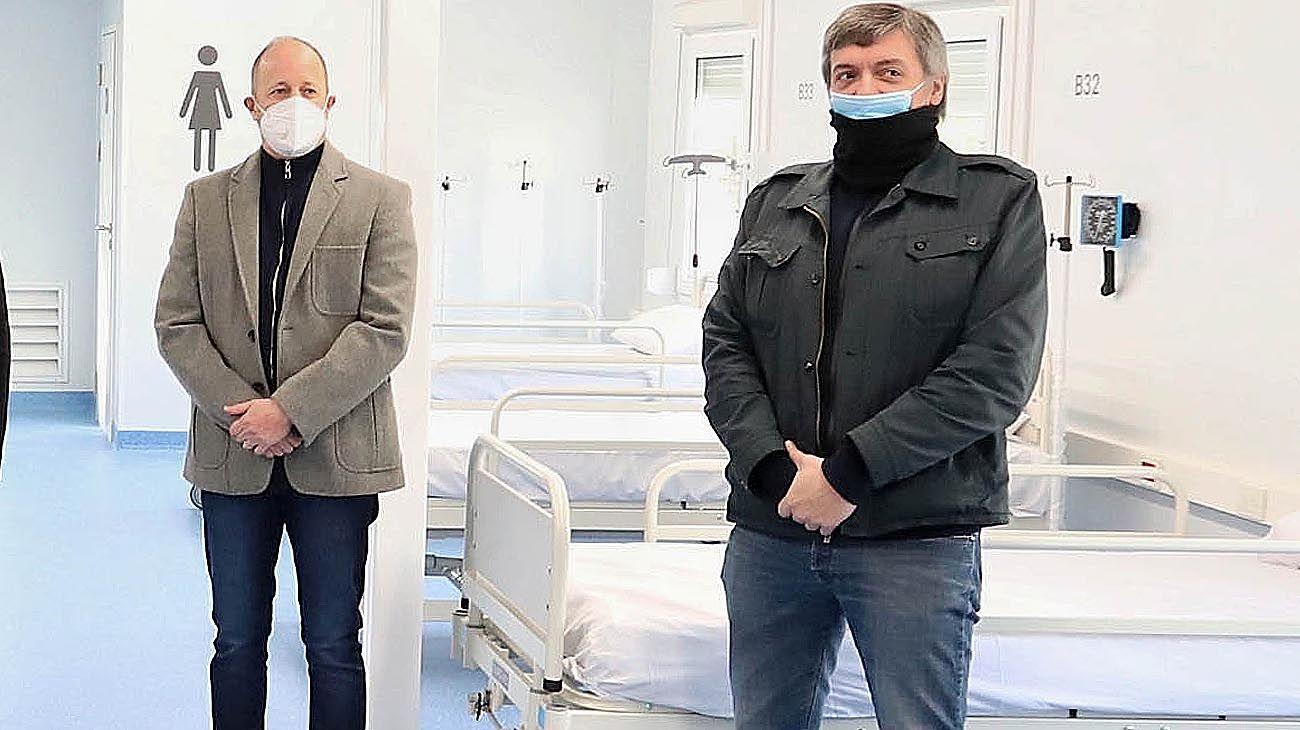 Martín Insaurralde y Máximo Kirchner