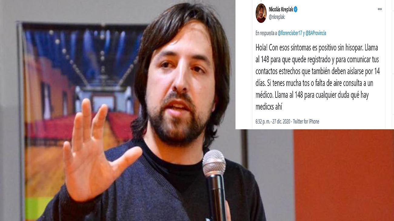 Nicolás Kreplak on Twitter
