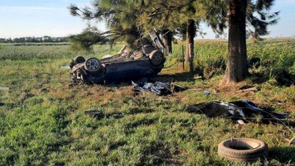 Accidente autos Santa Fe 20201228