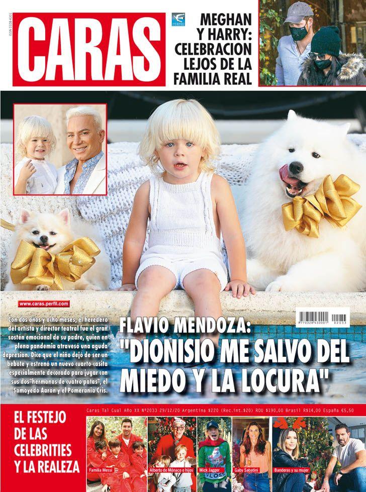 """Flavio Mendoza: """"Dionisio me salvó del miedo y la locura"""""""
