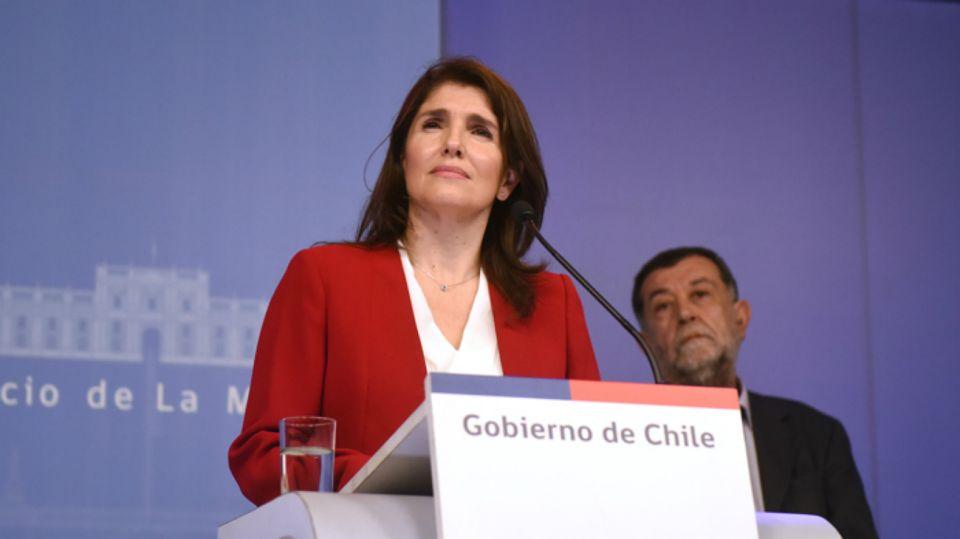 Paula Narváez, pre candidata a la Presidencia de Chile.