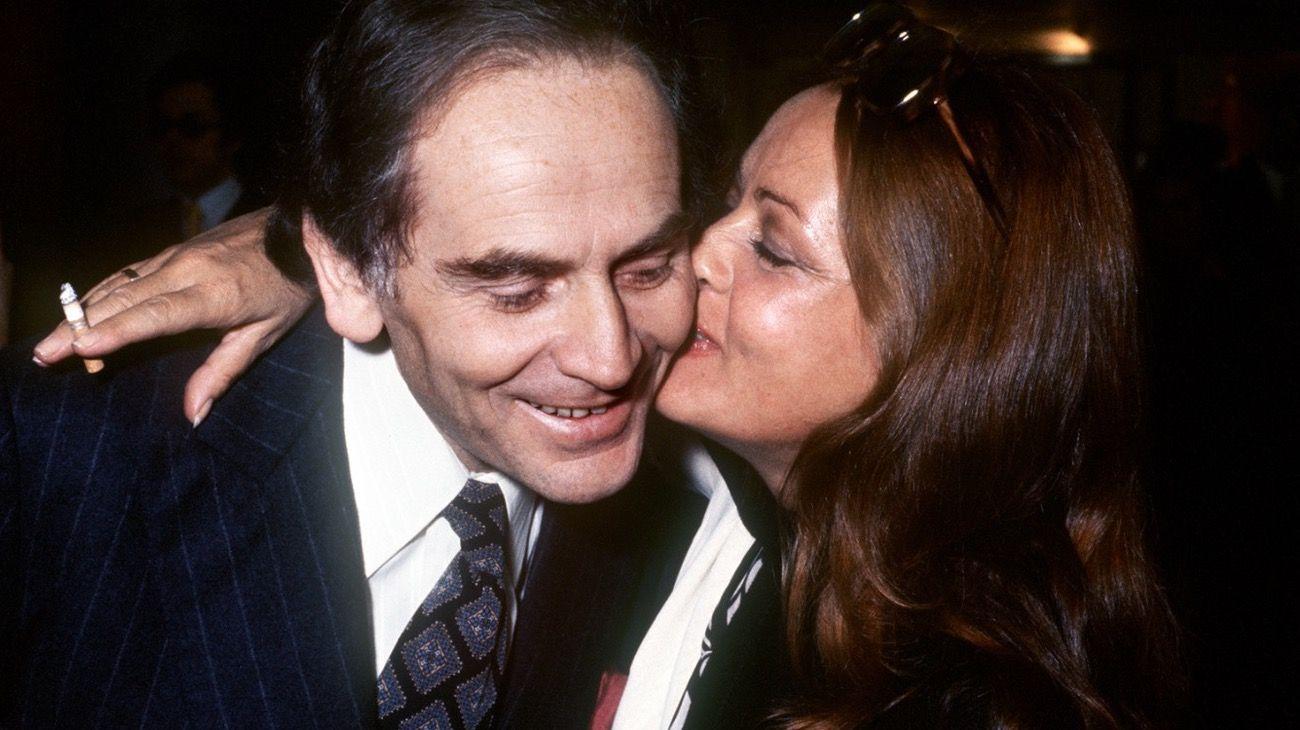 Pierre Cardin y la actriz Jeanne Moreau fueron pareja por cuatro años pero la relación entre ellos fue de por vida.En la foto, juntos en 1972.