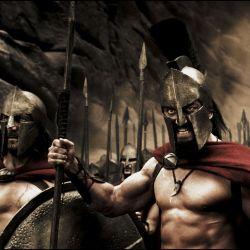 Los soldados espartanos fueron conocidos por ser los  guerreros más valientes y sangrientos de la historia.