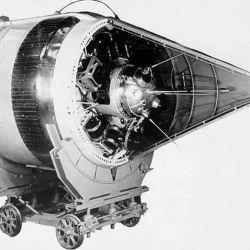 La sonda era una esfera de 80 centímetros de diámetro, construida de magnesio y aluminio.