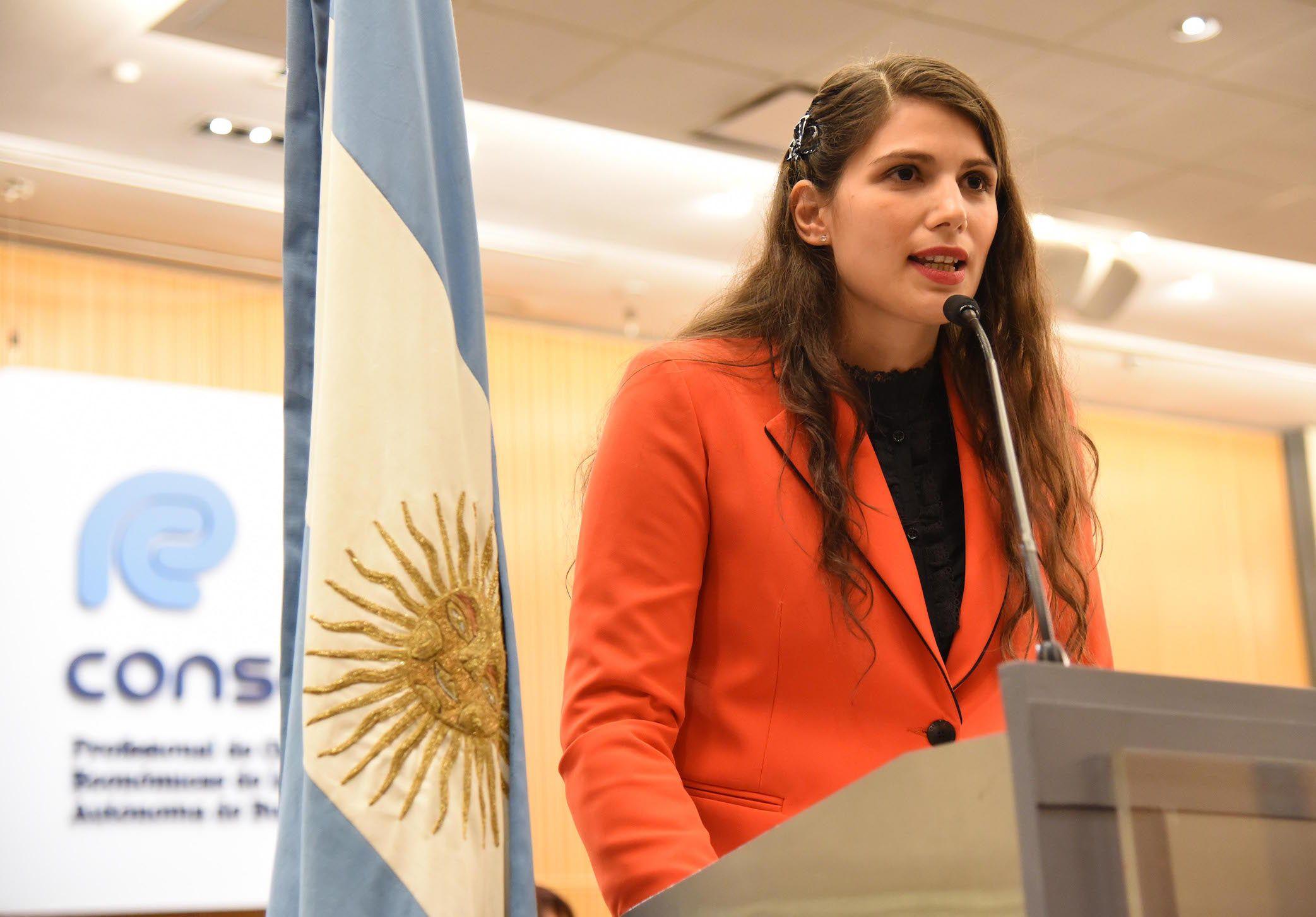 Gabriela Russo, presidenta del Consejo de profesionales de Ciencias Económicas porteño