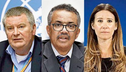 Los voceros de la OMS durante la Pandemia