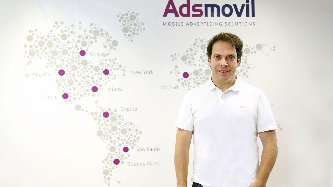 Alberto Pardo es el fundador de Adsmovil, la compañía con presencia en Argentina, Brasil, Colombia, México y Estados Unidos.