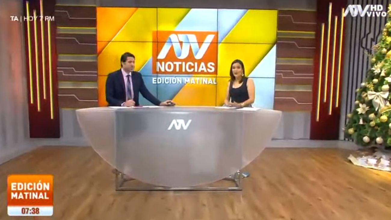 El periodista Francisco Bazán, un exfutbolista, fue criticado en las redes sociales al haber comentado la noticia en el noticiero matutino del canal ATV