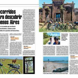 Para los que disfrutan de la bicicleta, te mostramos 6 recorridos espectaculares para realizar en la provincia de Buenos Aires.