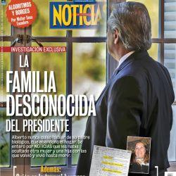 La última tapa de NOTICIAS: la familia desconocida del Presidente | Foto:Cedoc
