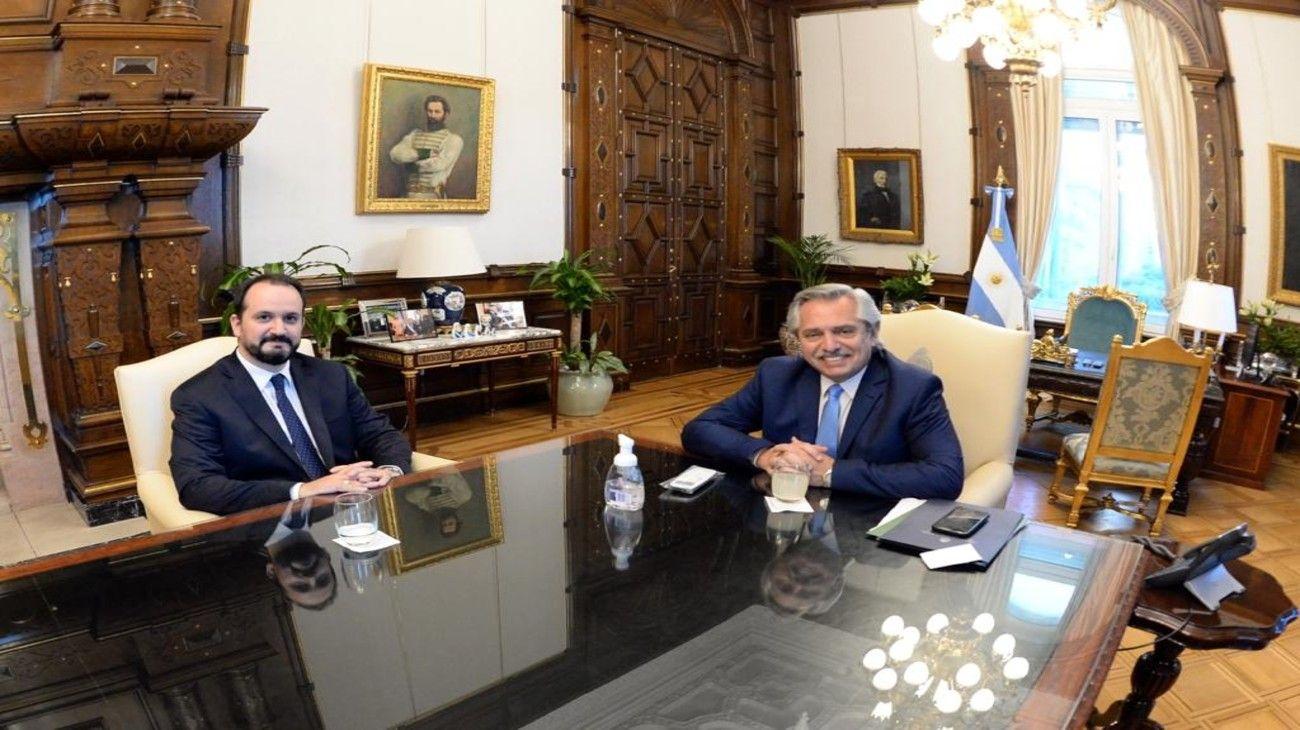 El jurista Roberto Carles asumió la embajada en Italia tras ser designado en agosto por Fernández.