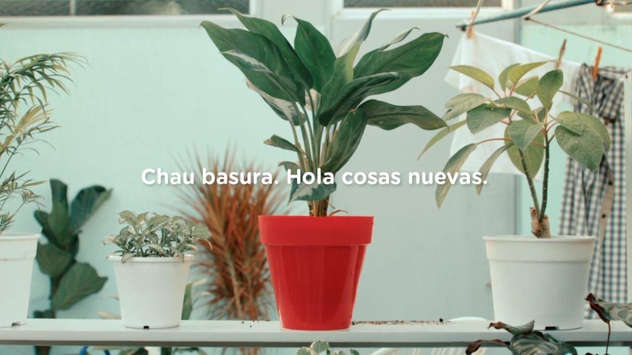 La campaña de reciclado de la Ciudad de Buenos Aires.  | Foto:CEDOC