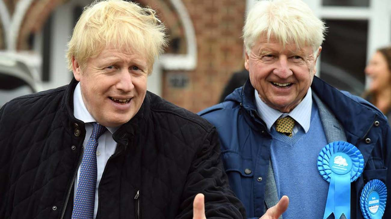 Stanley Johnson, el padre de Boris Johnson, ha pedido la nacionalidad francesa.