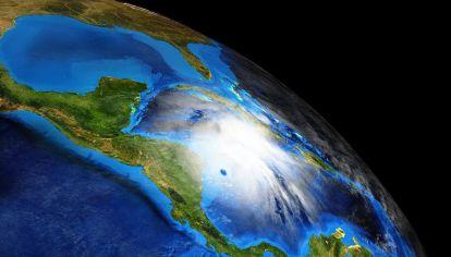 El huracán Eta en Centroamérica.