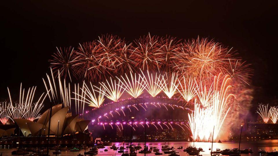 Año nuevo en Australia y otros paises.