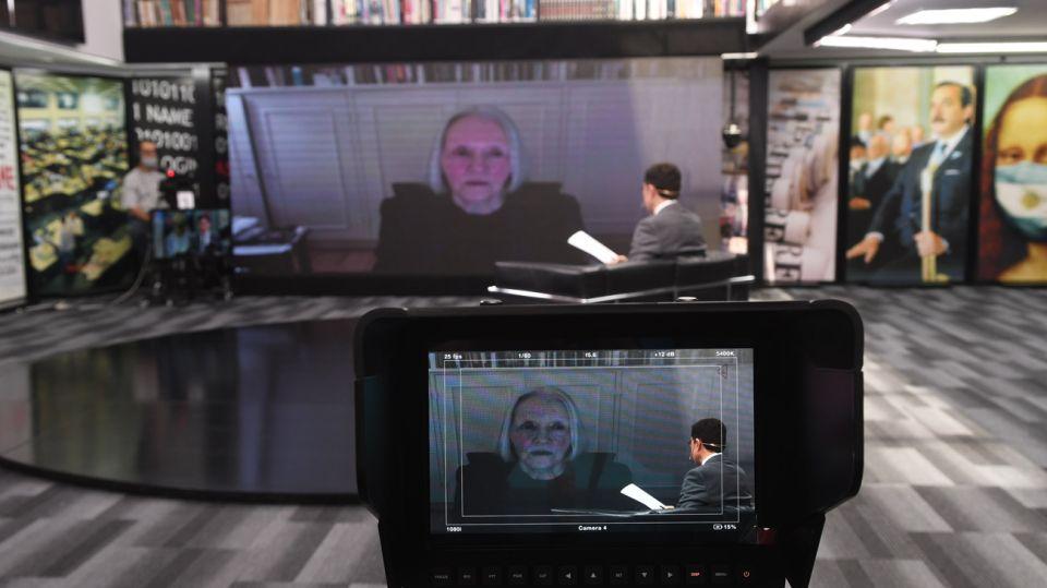 Saskia Sassen, en la entrevista con Jorge Fontevecchia.