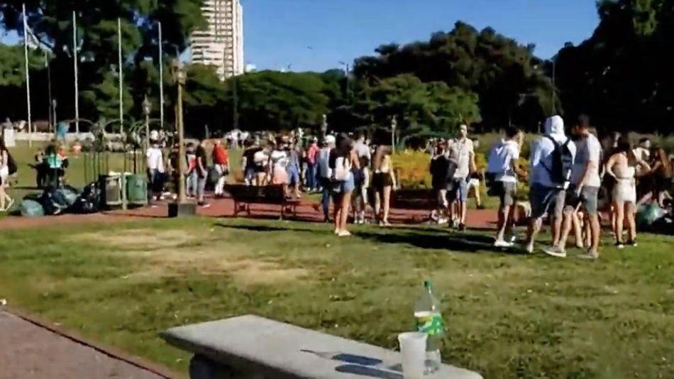 incidentes en parque chacabuco