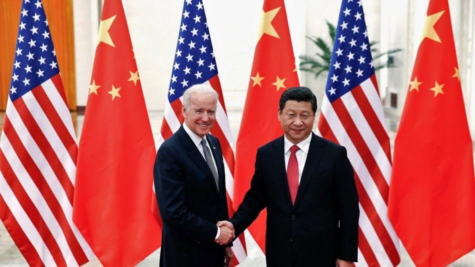 Joe Biden y Xi Jinping.