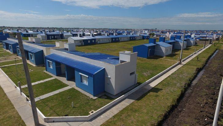 OBRA PÚBLICA. En el año electoral, Alberto Fernández apostará fuerte a la construcción de viviendas.