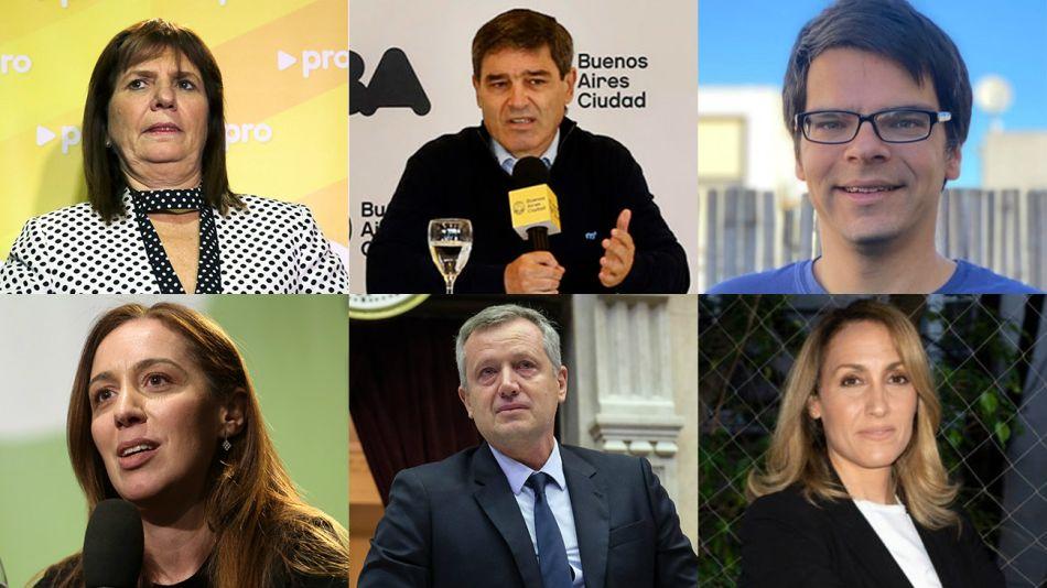 Bullrich, Quirós, Darío Nieto, Vidal, Monzó y Florencia Arietto, entre los posibles candidatos opositores.