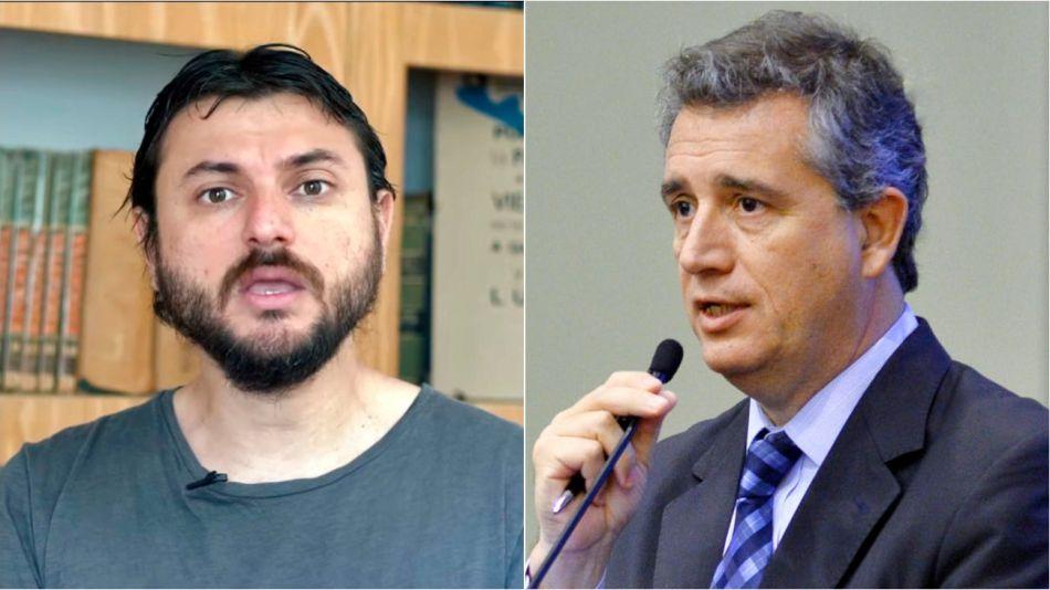 Juan Grabois y Luis Miguel Etchevehere se cruzaron en Twitter.