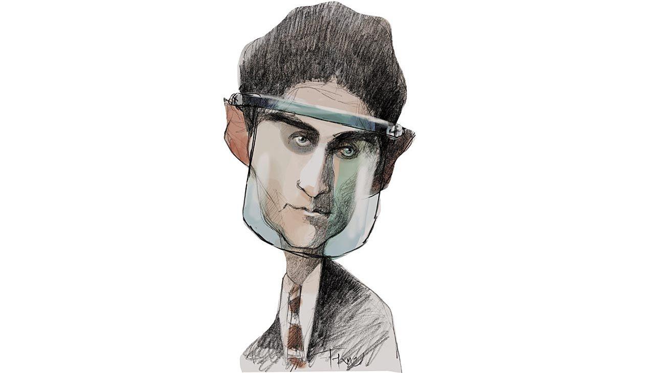 Samsa vernáculo, Franz Kafka.
