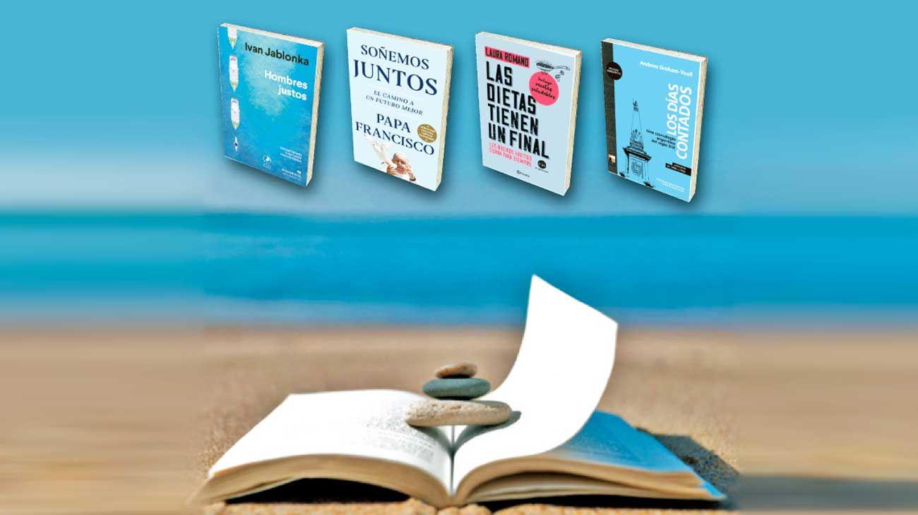 Vacaciones y lecturas. Cuatro propuestas diferentes.