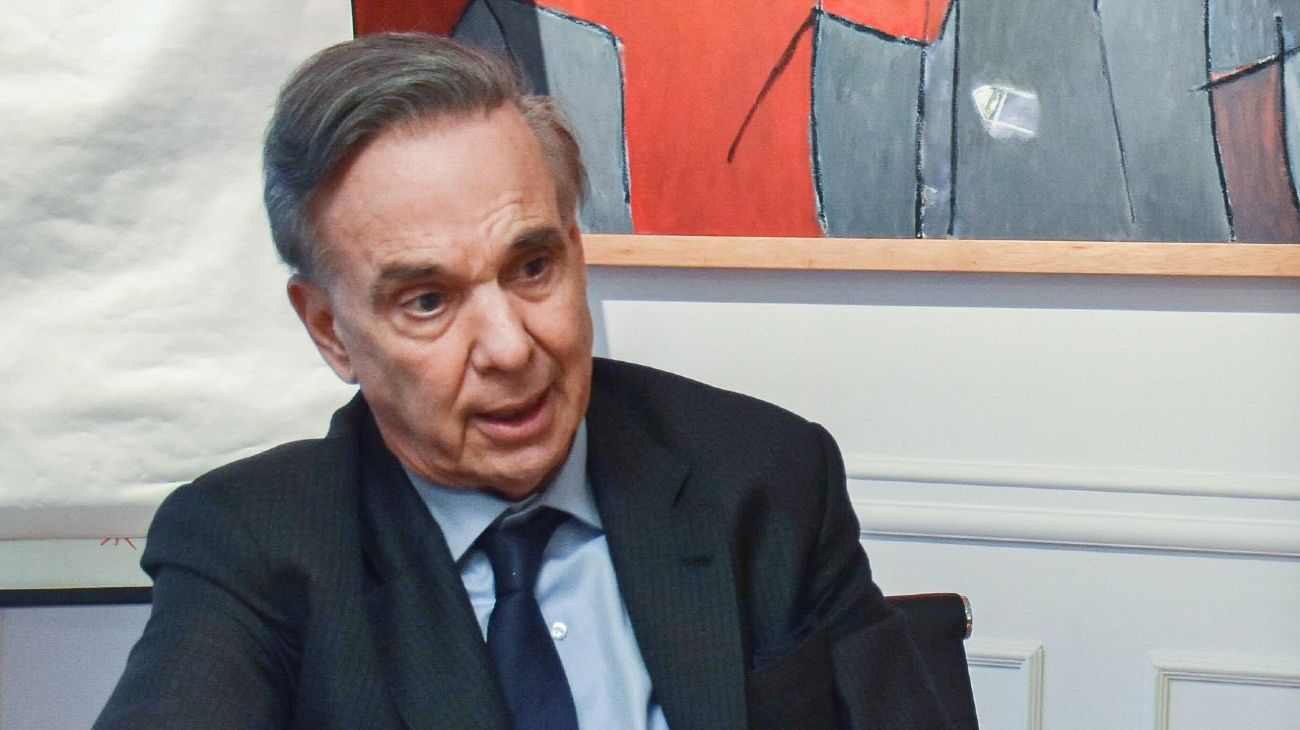 El auditor general de la Nación, Miguel Ángel Pichetto