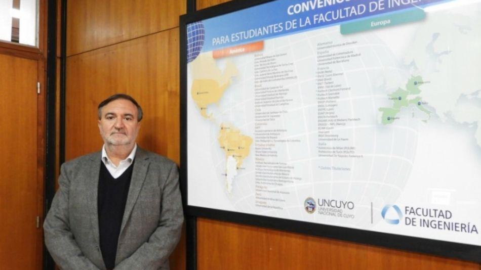 Hugo Martínez. Distinción docente de la UNCUYO