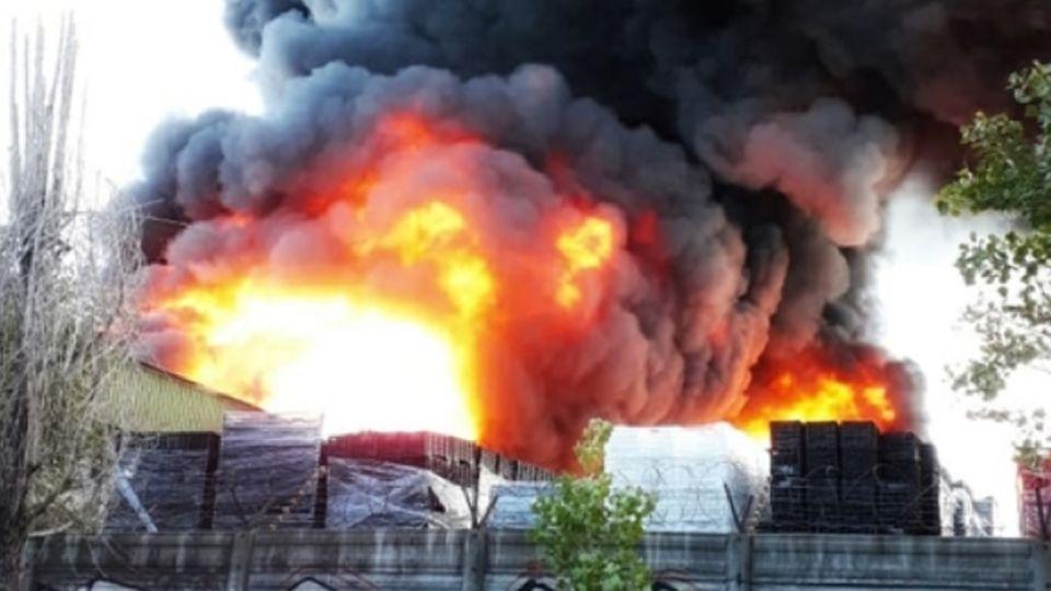 Incendio en Pacheco.