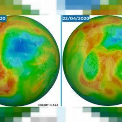 Se trataba del agujero de ozono más grande jamás registrado en el Artico.