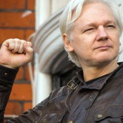 Assange hoy está asilado en una prisión de máxima seguridad | Foto:DPA