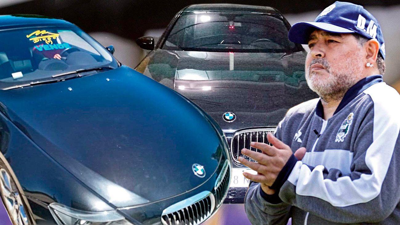 Los BMW de Maradona