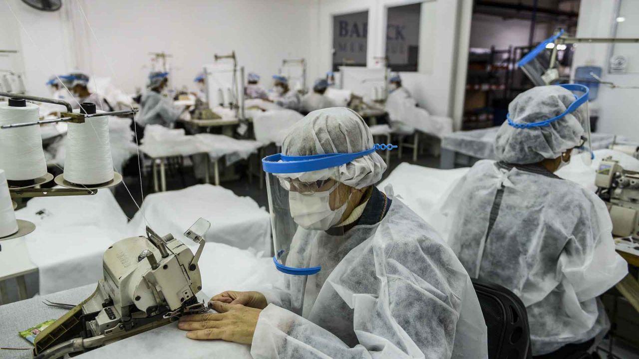Trabajar en pandemia
