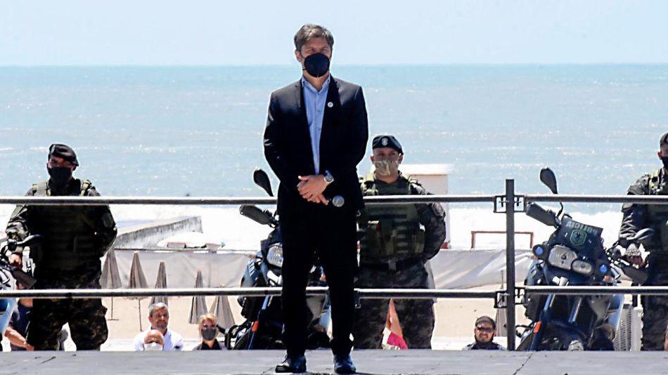 El gobernador de la provincia de Buenos Aires Axel Kicillof 20210104