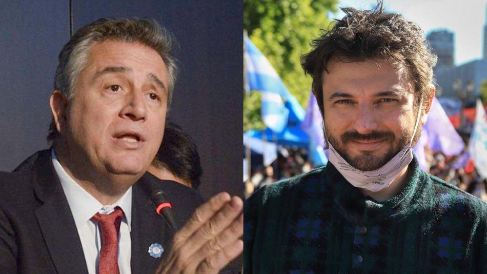 Luis Miguel Etchevehere y Juan Grabois 20210104