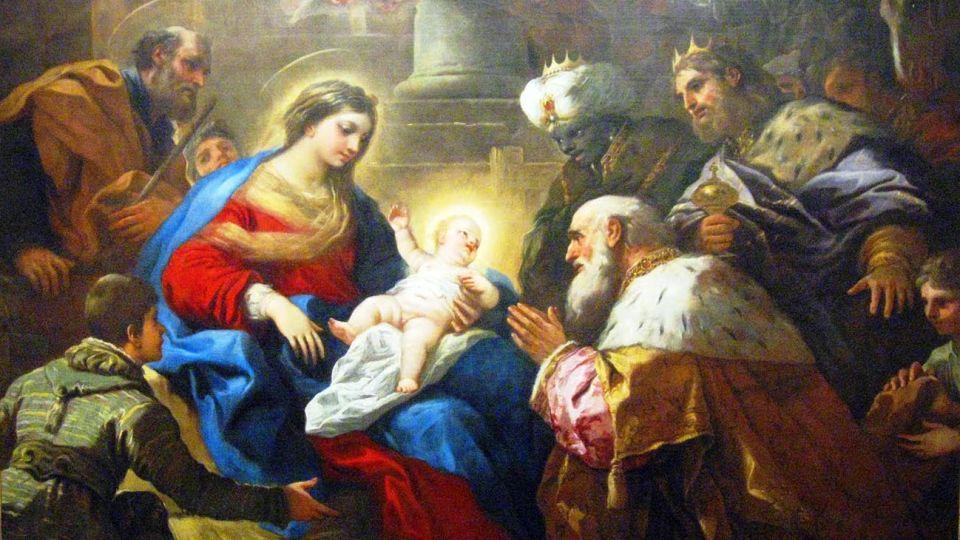 los presuntos Reyes Magos