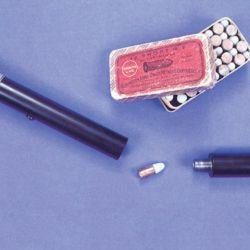 Cómo fueron los rifles ocultos de Remington.