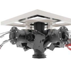 El único dron accionado por agua del mundo, recientemente presentado en diciembre de 2020.
