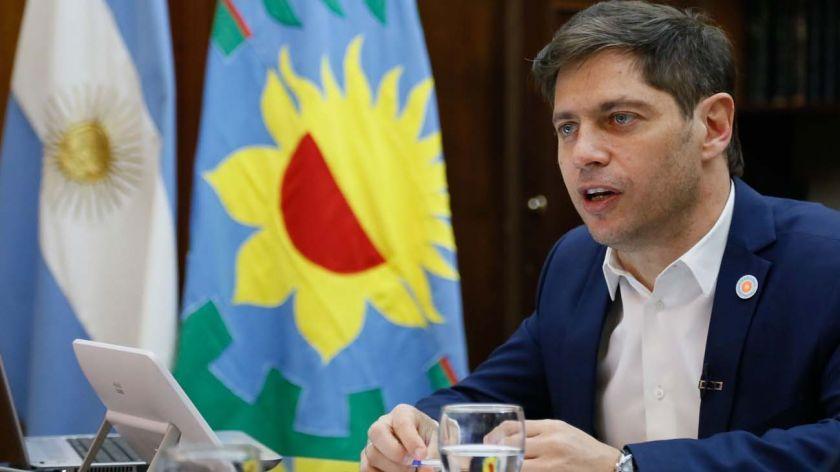 Gobernador Axel Kicillof