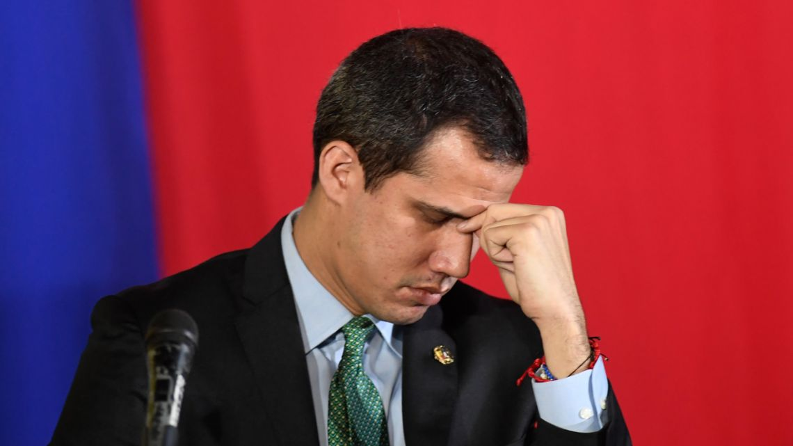 A new Venezuelan National Assembly will be sworn in on January 5, 2021 with the party of President Nicolás Maduro now in almost complete control and the main thorn in his side, Western-backed opposition leader Juan Guaidó (pictured), out in the political cold.