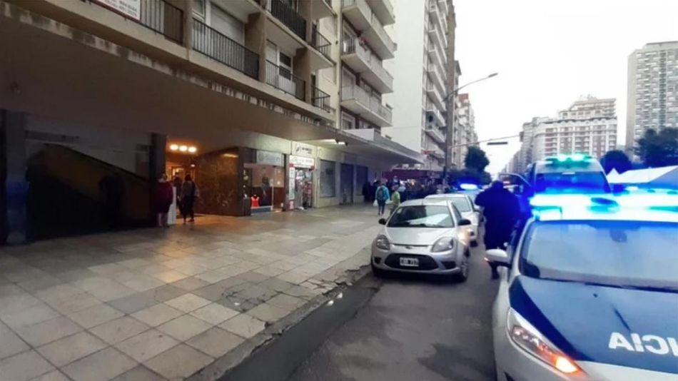 Murió una nena al caer del sexto piso de un edificio 20210105
