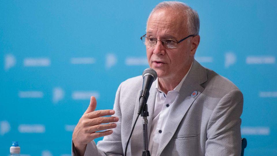 Daniel Gollán Ministro de salud bonaerense