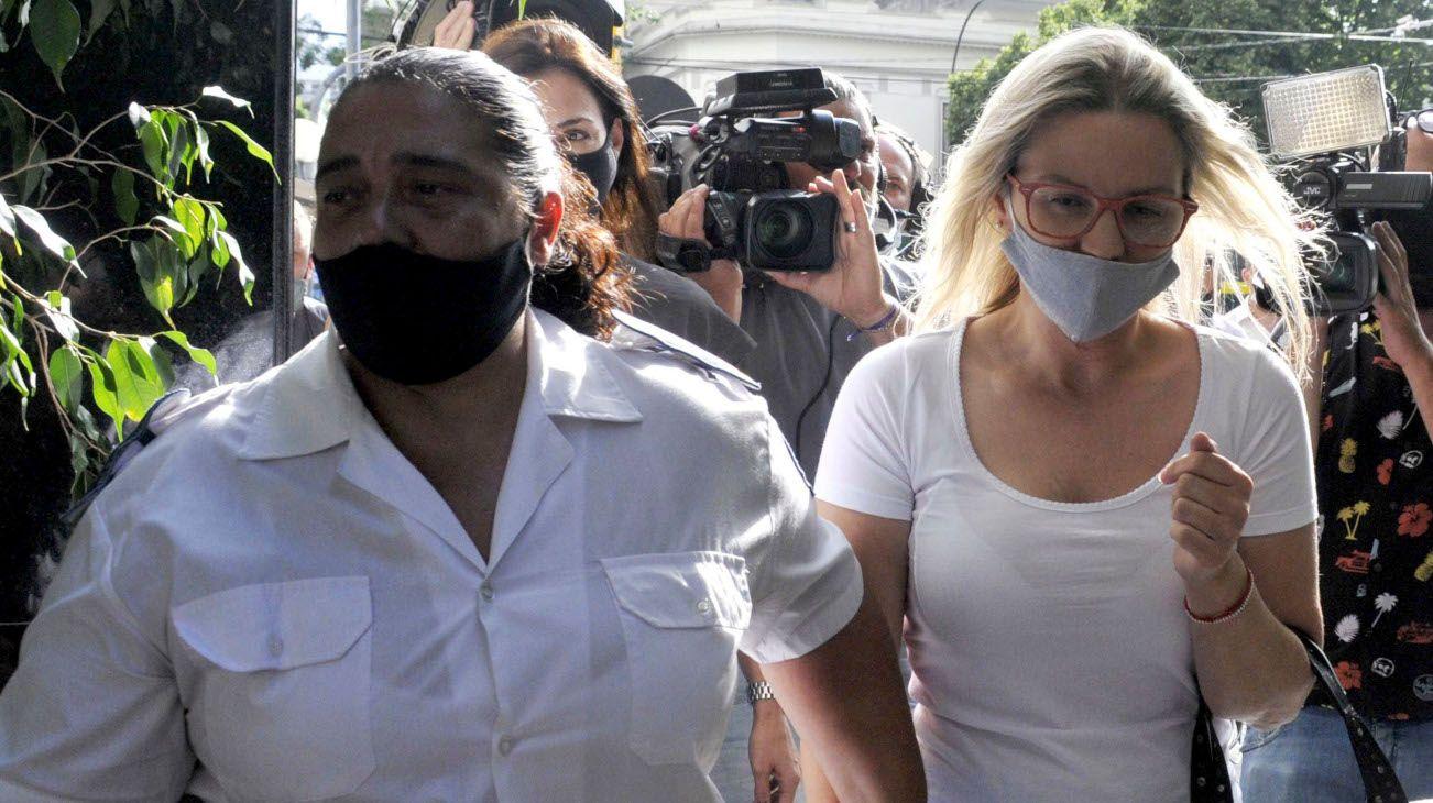 Carolina Piparo declaró en el marco de la causa que investiga el robo que sufrió y el atropello a dos motociclistas.
